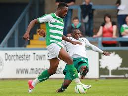 Yeovil striker Gozie Ugwu scored on his debut as Yeovil beat Bradford, which could potentially damage the Bantams' play off hopes.