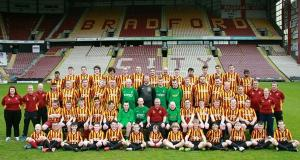 BDFC players pose for team photo